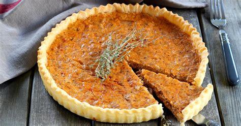 recette tarte au thon aux herbes de provence en pas  pas