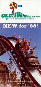Theme Park Brochures Old Indiana Fun Park