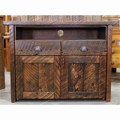 Console Rustic Tv Drawers Furniture Quantity Corner