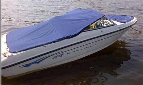 Cer Boat by Green Bayliner Cer Cover 2007 Bayliner 175br Cockpit Bow