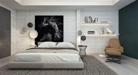 ag e chambre chambre contemporaine 33 idées déco murale design