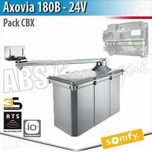 Motorisation De Portail Somfy : axovia 180 b somfy pack moteurs lectronique cbx 3s rts ~ Dailycaller-alerts.com Idées de Décoration