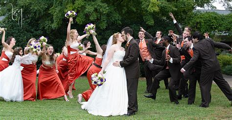 Large Wedding Party  Wedding Photographers Tag Photography