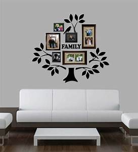 family photo tree kit decal vinyl wall lettering wall With the best of family decals for walls