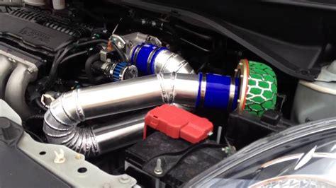 jual honda jazz rs 2013 honda brio aluminium air intake with hks filter by ys
