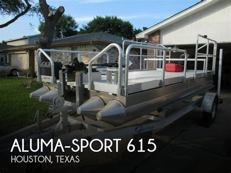 Houseboats For Sale Houston Tx by 2014 Aluma Sport 615 15 Foot 2014 Boat In Houston Tx