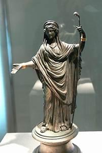 "lionofchaeronea: "" Bronze statuette of the Roman goddess ..."