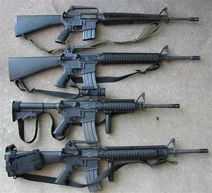 U.S ARMY SERIES M16 AND M4 CARBINS ASSAULT RIFLE ...