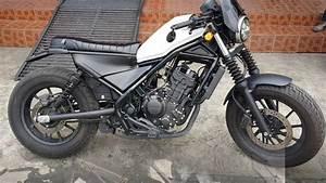 Honda Cmx 500 Rebel : install honda rebel cmx 300 500 motozaaa custom scrambler seat kit motorcycle youtube ~ Medecine-chirurgie-esthetiques.com Avis de Voitures