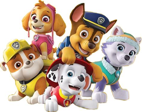 everest jumping paw patrol clipart png marshall everest paw patrol Unique