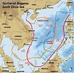 South China Sea territorial claims : MapPorn