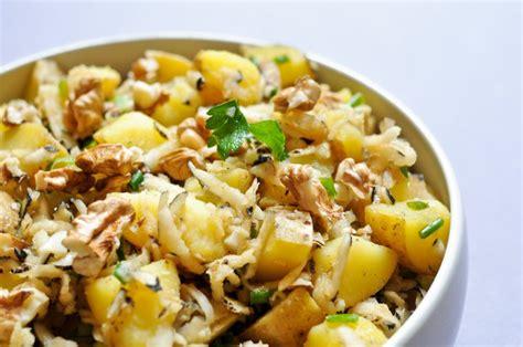 cuisine radis noir salade de pommes de terre et radis noir recette