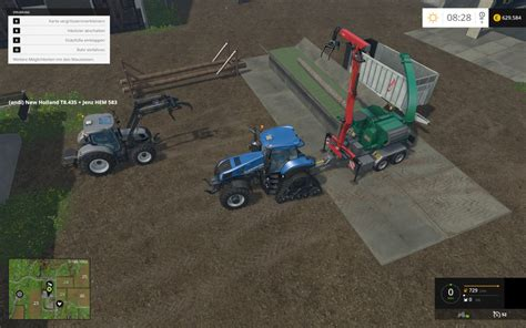 3 way table ls loading table for wood chipper v 1 0 platzierbar mod ls 15