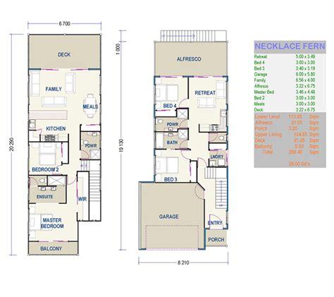 beautiful small duplex house plans  small narrow lot