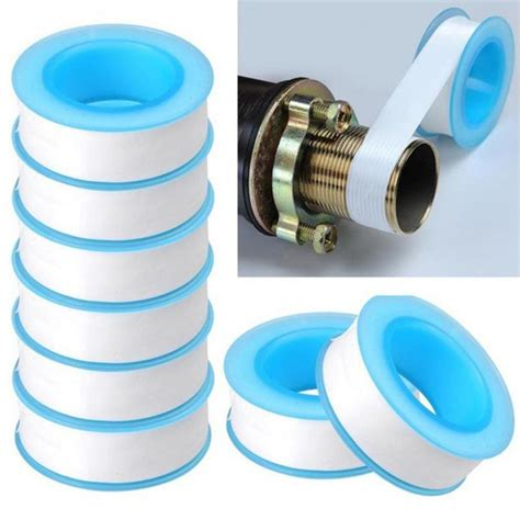 10pcslot Roll Teflon Plumbing Joint Plumber Fitting