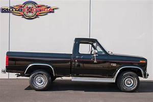 1985 Ford F150 Xl 4x4 Pickup  Actual Mileage Pickup Truck