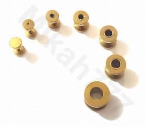 Rigipsplatten 6 5 Mm : alargadores dourado a o inox316l 1mm 2mm 3mm 4mm 5mm 6mm ~ Michelbontemps.com Haus und Dekorationen