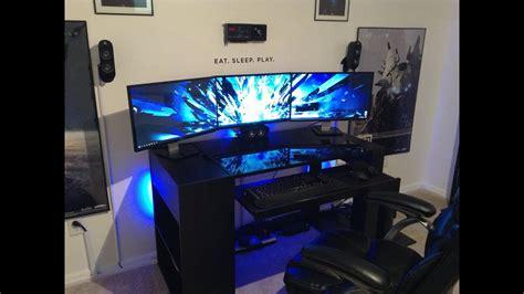 Awesome 2013 Pc Gaming Setup!!! 5760 X 1080 3 Monitors W