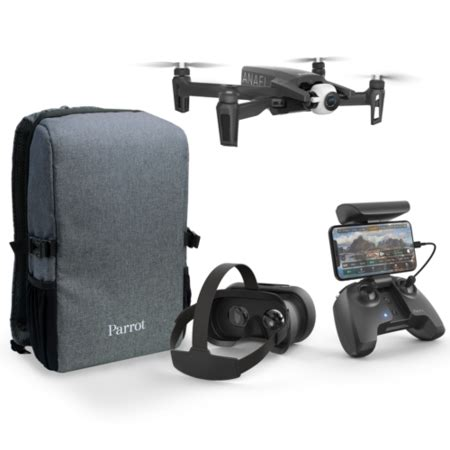 grade  parrot anafi  hdr camera drone  fpv package apf drones direct