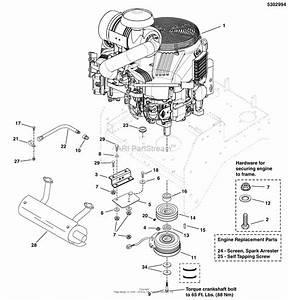 Simplicity 5900527   61 U0026quot  Mower Deck  U0026 R O P S  Parts Diagram