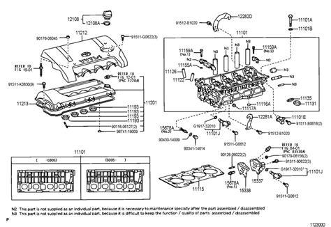 Toyota Gasket Cylinder Head Cover Engine