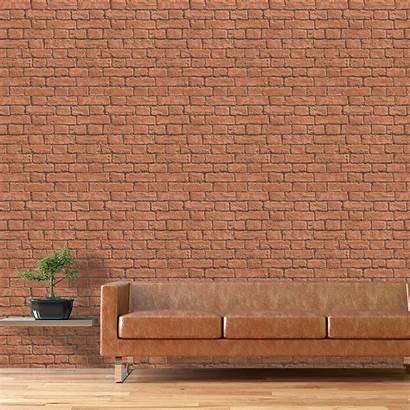Brick Designs Effect Terracotta Stylish Inspired Walls