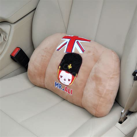 peach car buy wholesale peach ali auto car lumbar pillows plush