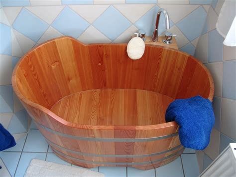 baignoire bois sabot 122x72
