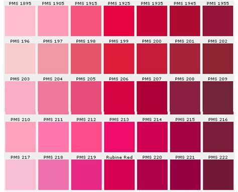 25+ Best Pms Color Chart Ideas On Pinterest