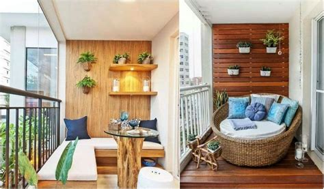 Decorate small balcony 2020 Tips and ideas to transform