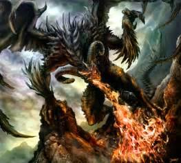 Cool Black Dragons