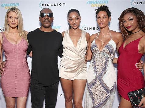 Eddie Murphy and Paige Butcher Joins Ex Wife and Daughter