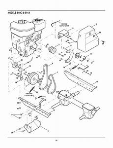 Troy Bilt Bronco Belt Diagram