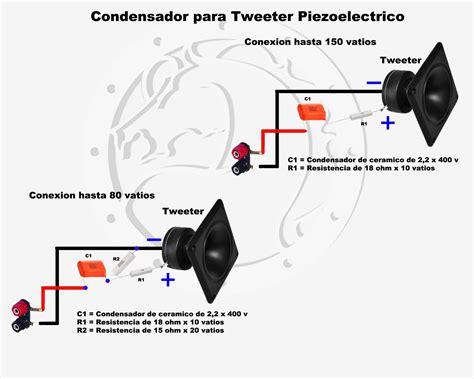 conexiones muy simples para parlantes crossover pasivo audio muy simple