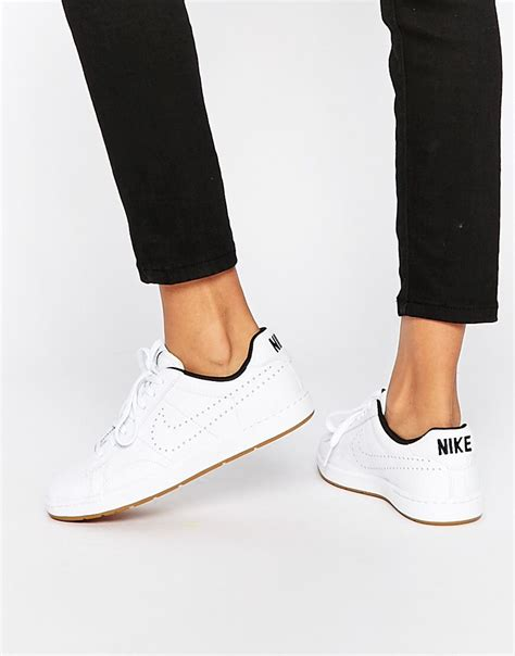 schuhe trend 2017 damen nike classic ultra sneaker aus leder fit for fashion