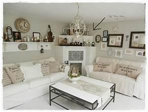 Landhaus Shabby Chic : shabby landhaus shabby chic decor pinterest shabby living rooms and shabby chic decor ~ Bigdaddyawards.com Haus und Dekorationen