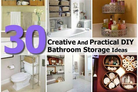 clever bathroom storage ideas creative bathroom storage ideas inspiration thaduder com