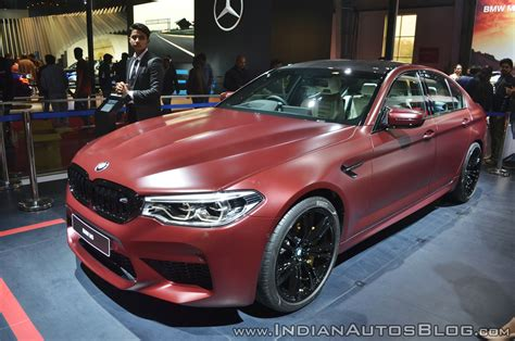 2018 Bmw M5 First Edition Front Angle Indian Autos Blog