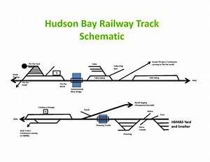 Track Schematic For The Dispatcher