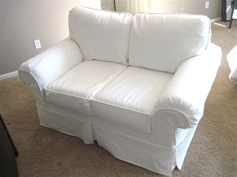 white slipcovered chair sofa cover white how to cover a chair or sofa with