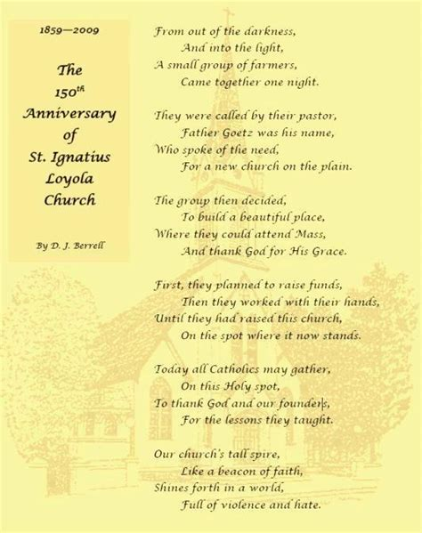 The following poem of appreciation and gratitude may be shared with virtually anyone you know. Appreciation poem for the church musicians | just b.CAUSE