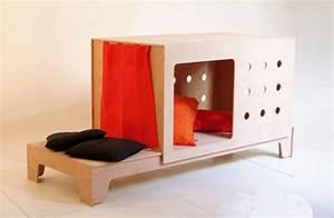Lit Fille Original : mon lit cabane bio et design de 2 99 ans by fourmis rouges ~ Teatrodelosmanantiales.com Idées de Décoration
