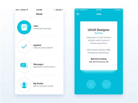 mobile app ui design    app developers work