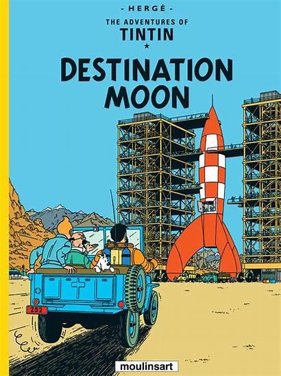 Tintin Moon Destination Wiki Fandom
