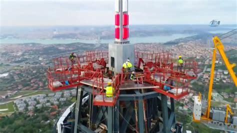Ulaştırma ve altyapı bakanı cahir turhan, hedeflerinin bu sene içerisinde tv kulesinin test çalışmalarına başlamak olduğunu söyledi. Çamlıca Kulesi'nin Son Hali Havadan Görüntülendi - YouTube