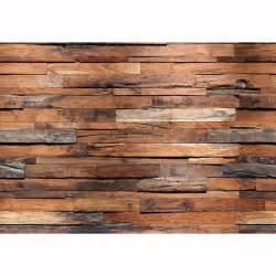 holzwand wohnzimmer reclaimed wood wall mural ideal décor murals