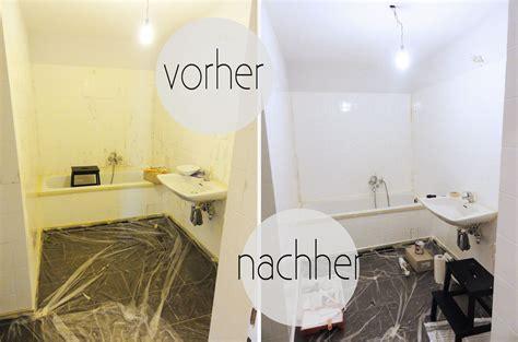 Badezimmer Fliesen Lack by Oh What A Room Mein Bad Voller Diys 1 Fliesen Streichen
