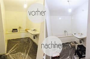 Kann Man Fliesen überstreichen : oh what a room mein bad voller diys 1 fliesen streichen oh what a room ~ Markanthonyermac.com Haus und Dekorationen