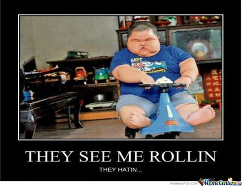 They See Me Rollin They Hatin Meme - they see me rollin they hatin by anton123 meme center