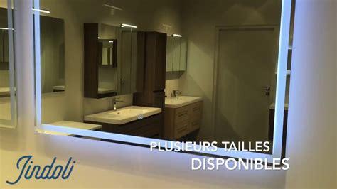 Miroir Lumineux Salle De Bain Led  Jindoli Youtube